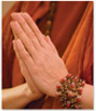 Swami hands