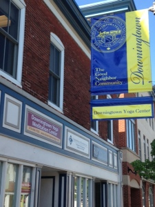 downingtown yoga banner