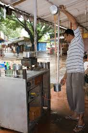 cooling chai in Ganeshpuri