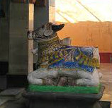 Nandi in Ganeshpuri cropped