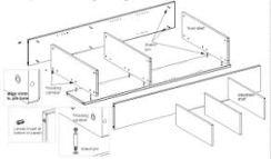 idea bookshelf assembly
